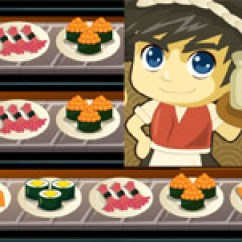 Kitchen Cooking Games Counter Chairs Sushi Chef