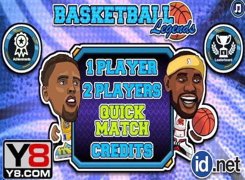 Basketball Legends 2 Players Game By Y8