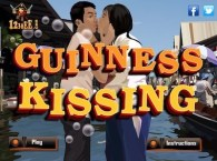 Guinness Kissing