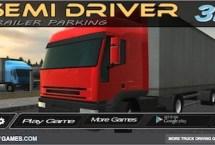 Semi Driver 3D Trailer Parking