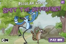 Regular Show: Spot the difference