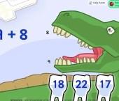 Dinosaur Dentist (Addition Game)