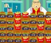 Mr. Chomper and Fast Food Math