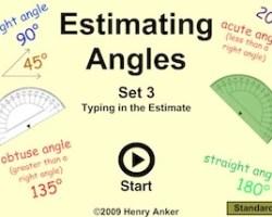 estimating angles set 3