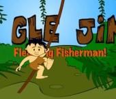 Jungle Jim as the Fledgling Fisherman