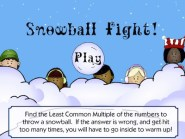 Snowball Fight LCM Game