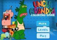 Uncle Grandpa Coloring