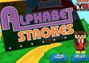 Alphabet Strokes