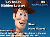 Toy Story: Hidden Letters Game