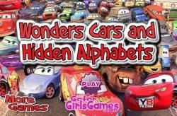 wonder cars and hidden alphabet