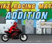 Bike Racing Math Addition (Math Game)