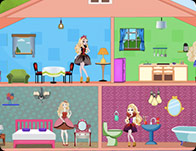 Barbie Games Doll House Decorating