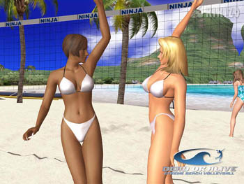 Dead or Alive Xtreme Beach Volleyball, as close to porn as youll find in an XBOX game