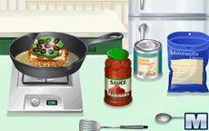 Cocina con Sara Hamburguesa de Pizza  Macrojuegoscom