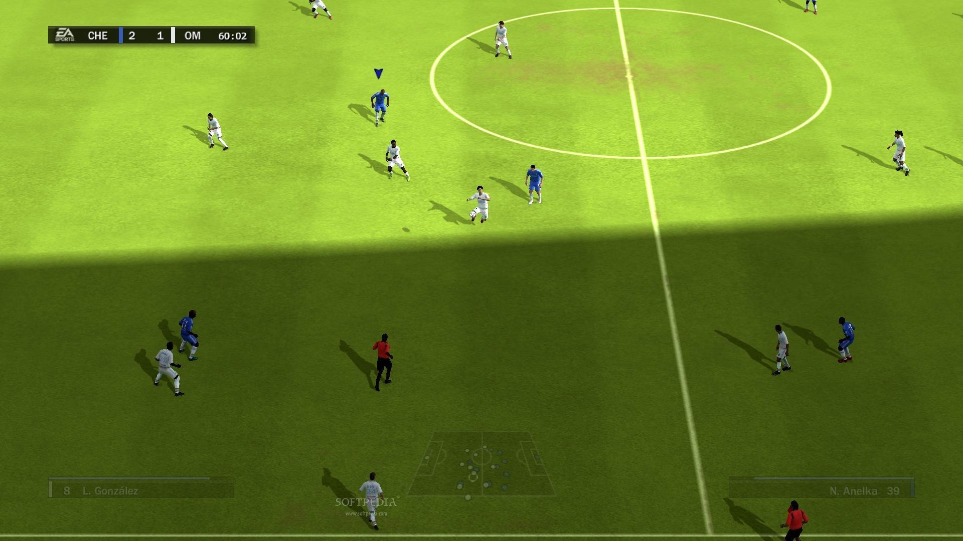 صرية لعبة Fifa 10 فيفا 2010 على بلاي ستيشن 2 جديد