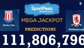 Stoke City Vs Sheffield Wednesday Prediction: Sportpesa Mega