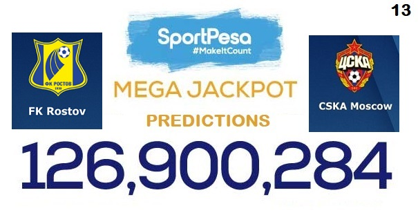 5c707555a FK Rostov vs CSKA Moscow Prediction  Sportpesa Mega Jackpot Prediction