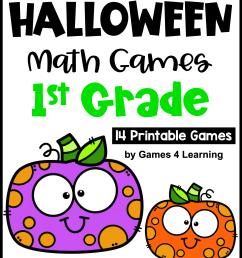 Halloween Math Games [ 3308 x 2479 Pixel ]
