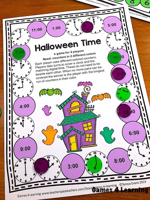small resolution of Halloween Math Games