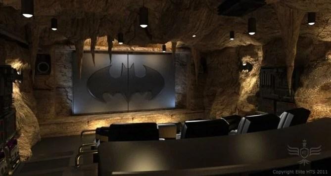 The Dark Knight Rises Für Zuhause Fan Baut Wahnsinns