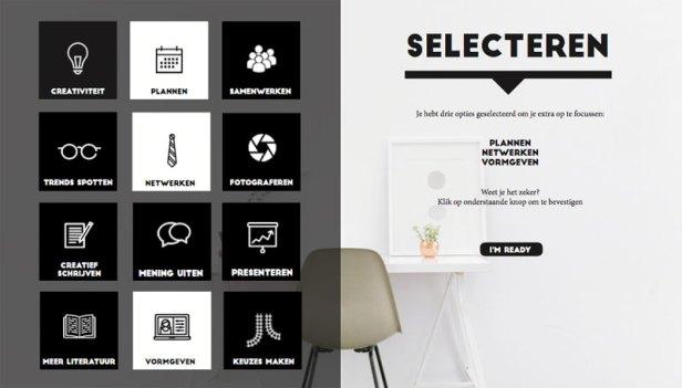 BUCKETLIST-doelen-selecteren