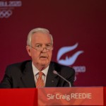 IOC Evaluation Commission Chair Sir Craig Reedie at the Four Seasons on the Bosphorus (Istanbul 2020 Photo)
