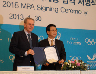 PyeongChang 2018 Makes Giant Leap Towards Games With MPA Signing