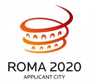 Branding for Rome's abandoned 2020 Olympic Games bid