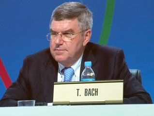 Germany's Bach Elected President of IOC