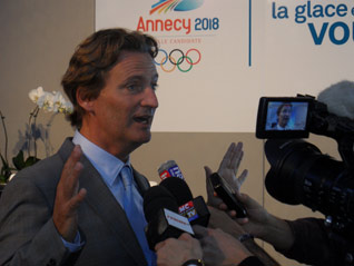 Annecy 2018 CEO denies controversial remarks were made about bid competitors