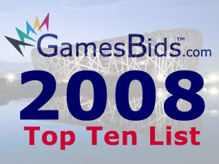 Top Olympic Bid Stories of 2008:  Olympics Lose Grip on the Internet and Birmingham Bids