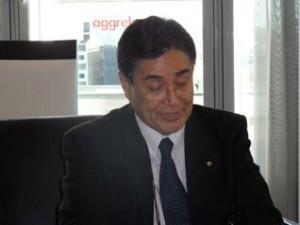 Tokyo 2020 CEO Masato Mizuno at SportAccord Convention in 2011 (GB Photo)