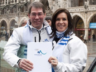 Munich 2018 Bid Book Enroute To IOC