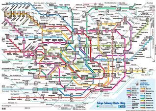 In Tokyo – Lost In the Subway; But Not Lost in Translation