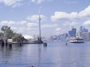"Toronto, the centre of Ontario's ""Golden Horseshoe"" bid for the Pan Am Games"