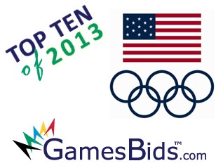 "Top Olympic Bid Stories of 2013: #9 USA ""Quietly"" Pursues 2024 Olympic Games Bid"
