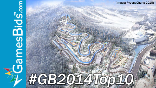 Top Olympic Bid Stories of 2014: #10 – PyeonchChang 2018 Asked to Move Sliding Venue