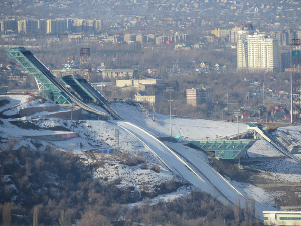 Sunkar Ski Jump Park in Almaty, Kazakhstan (GamesBids Photo)
