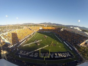 MSU Bobcat Stadium in Bozeman will not be hosting athletics at the 2024 Olympic Games (MSU Photo)