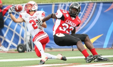 The International Federation of American Football (IFAF) one of 26 sports applying for Tokyo 2020 inclusion (IFAF Photo)