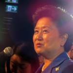 China's Vice Premier Liu Yandong at Beijing 2022 Presentation in Lausanne (Gamesbids Photo)