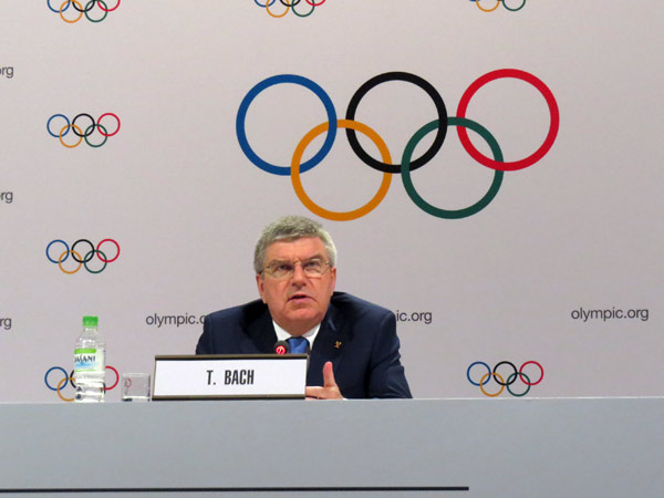 Bach Blames Unrelated Politics For Budapest 2024 Referendum Woes