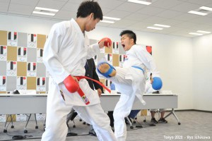World Karate Federation demonstrates its sport while presenting for Tokyo 2020 inclusion (Tokyo2020/Twitter Photo)
