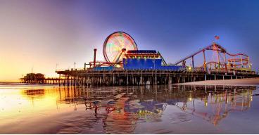 Santa Monica Pier (LA24 Photo)
