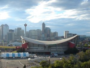 Olympic Saddledome in Calgary, Canada - host of the 1988 Olympic Winter Games (Wikipedia Photo)