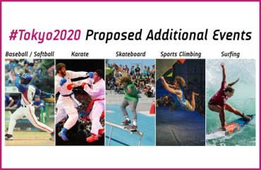 IOC Executive Board Approves Package of Five New Sports For Tokyo 2020