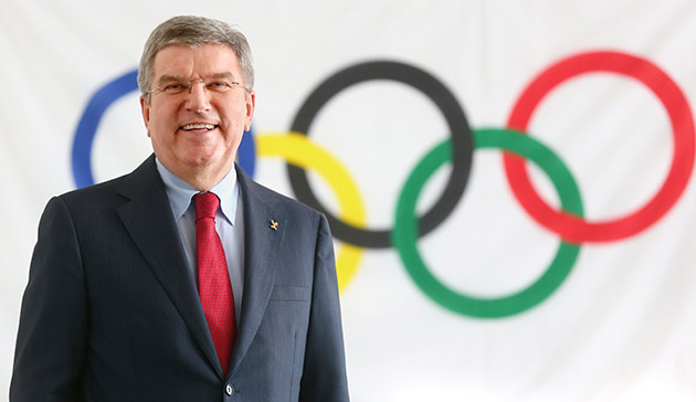 IOC President Thomas Bach (IOC Photo)
