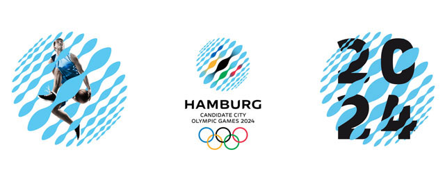 """Look"" of Hamburg 2024 Olympic Bid (Mutabor Design)"
