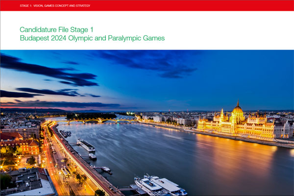 Budapest 2024 Bid Book - Stage 1 (Click to download)