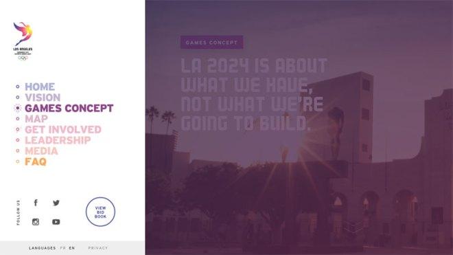 LA 2024 Website